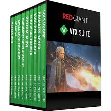 Red Giant VFX Suite Powerful toolkit for realistic visual effects