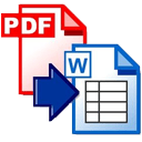 Solid PDF to Word Convert all your text PDF files to DOCX