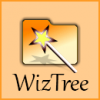 WizTree Scans your entire hard drive