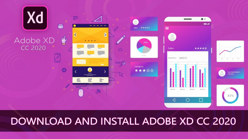 Adobe XD CC 2020 v32.1.22 Free Download - UX/UI design and collaboration tool